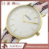 Vorzügliche wasserdichte Quarz-Dame-Armbanduhr