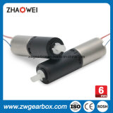 3V 6mm Coreless Gear Motor para Micro Gearhead