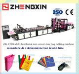 Saco não tecido em forma de caixa que faz a máquina Zxl-C700