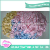 Knitting Baby Custom Polyester Hairs POM-POM Fancy Yarn (FY-070)