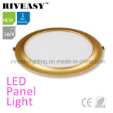 Electroplated 알루미늄 5W 금 LED 위원회 빛