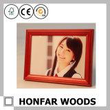 Cornice di legno rossa di modo per la decorazione hotel/della casa