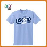 Camiseta adulta unisex de la vendimia con la insignia impresa (HY03)