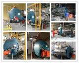 Wnsの産業蒸気ボイラのガス4tonのガス燃焼の蒸気ボイラの油田の蒸気ボイラ