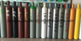 Cilindro de gás industrial de alta pressão ISO9809 do Cl2 do aço sem emenda