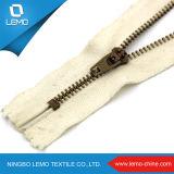 Оптовая тяга застежки -молнии металла конструктора