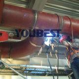Flens aan Fabriek van het Systeem van het Lassen van de Pijpleiding van de Elleboog de Orbitale Geautomatiseerde