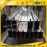 Perfiles de aluminio de la protuberancia del fabricante para el perfil de aluminio de la pared de cortina