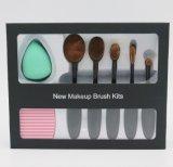 Productos de maquillaje cosméticos profesionales de la belleza del conjunto de cepillo del maquillaje