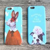 Neuer Ankunfts-netter Tierabziehbild-Wasser-Drucken harter PC Plastiktelefon-Deckel-Fall für iPhone 6