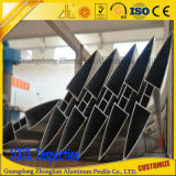 Qualität anodisiert/Puder-überzogener Aluminiumblendenverschluss-Aluminium-Luftschlitz