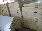 los paneles de emparedado del poliuretano de la cámara fría de 100m m
