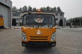Leitschiene-Pfosten, der LKW mit hydraulischem Auswirkung-Hammer für Stahlleitschiene-Pfosten fährt