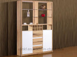 Шкаф гостиной самомоднейшей конструкции изготовления 2016 новый Китай деревянный (HX-LS005)
