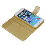PU iPhone 7 케이스를 위한 분리가능한 자석 호리호리한 상자를 가진 가죽 지갑 상자