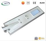 CE 60W & giardino del sensore LED di PIR/indicatore luminoso di via solari Integrated diplomati RoHS