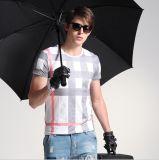 Venta al por mayor manga corta transpirable Moda Publicidad camiseta