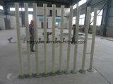 Tubos del abastecimiento de agua FRP con las guarniciones