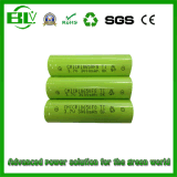 3000mAh 18650 batería de litio con alta capacidad y baja tasa de descarga propia para LED / luz / UPS