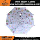 Parapluie de publicité en aluminium droit de lacet