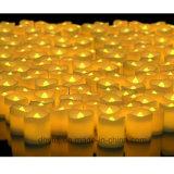 Flameless LEDの浸水許容の防水結婚式の装飾党茶ライト