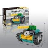 Fernsteuerungs-RC Blöcke des Block-1488718-Tank des Installationssatz-stellten Ausbildungs-kreatives Spielzeug 145PCS - die gelegentliche Farbe ein