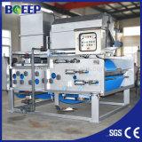 Imprensa de filtro quente da correia da venda para o tratamento da água Waste