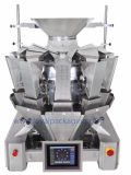 Automatischer Multihead Wäger, der Biskuit-Verpackungsmaschine V.-F.F.S wiegt