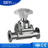 Valvola a diaframma Two-Pass igienica dell'acciaio inossidabile (DY-V072)