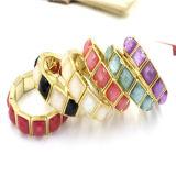 Armband van de Armband Matel van Antque van de Stijl van de Manier van de Prijs van de fabriek de Vierkante Gouden