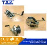 Treuil de main de frein avec le système automatique et le câble métallique