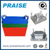 Molde plástico da caixa da injeção da boa qualidade da fonte para o vegetal & a fruta