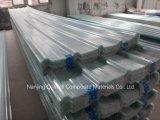 A fibra de vidro ondulada do painel de FRP/telhadura transparente do vidro de fibra apainela W171014