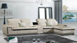 حديثة أسلوب منزل [ل-شب] ركن [بو] جلد أريكة ([هإكس-ف616])