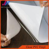 Intérieur publicité transparent en PVC transparent Vinyle