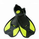 Alette della casella del piede dell'attrezzatura per l'immersione, alette adulte di immersione subacquea