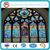 Напечатанное стекло Windows декоративной церков цветного стекла декоративное