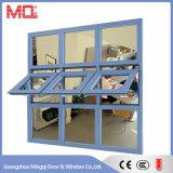 Finestra di alluminio della stanza da bagno di vetro glassato