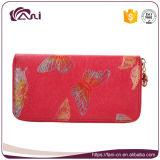 携帯電話のホールダーおよび女性財布のOEMの工場が付いているFaniの札入れ袋