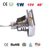 1W minileiden onderaan Lichte 12V Lamp voor Trede
