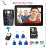 9 Kennwort-Aufnahme-videotür-Telefon-Türklingel des Zoll-900tvl RFID