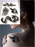 autoadesivo provvisorio impermeabile del tatuaggio di arte degli autoadesivi del tatuaggio di modo