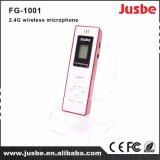 Lavalier Mic Fg-1001小型2.4Gデジタルの無線マイクロフォン