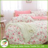 Juegos de cama de algodón de flores