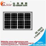Mono панель солнечных батарей 40W-50W для света СИД