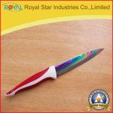 チタニウムのめっきカラーステンレス鋼のナイフ5のナイフはセットした(RYST043C)