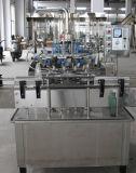 Bouteille en verre machine remplissante et recouvrante de Rinser d'animal familier semi automatique