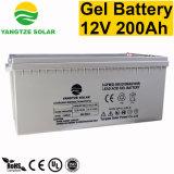 Primera calidad de calidad 12V 200ah batería solar de gel