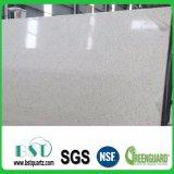 白い輝きの床タイルの水晶石