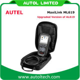 Lettore di codice dello strumento di esplorazione di sistemi diagnostici OBD2 dell'automobile di Autel Maxilink Ml619 Autolink Al619